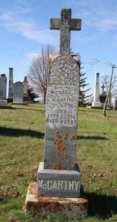 MCCARTHY, MICHAEL - Jackson County, Iowa | MICHAEL MCCARTHY