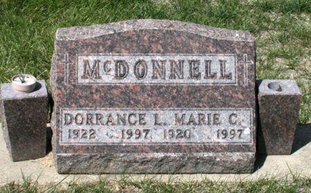 MCDONNELL, DORRANCE L. - Jackson County, Iowa | DORRANCE L. MCDONNELL