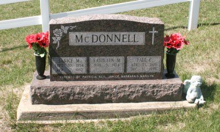 MCDONNELL, JANICE M. - Jackson County, Iowa | JANICE M. MCDONNELL
