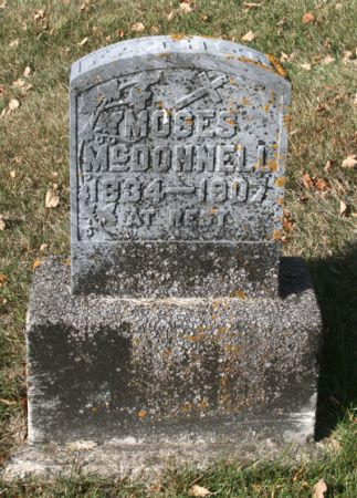 MCDONNELL, MOSES - Jackson County, Iowa | MOSES MCDONNELL