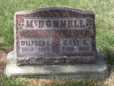 MCDONNELL, MARY C. - Jackson County, Iowa | MARY C. MCDONNELL
