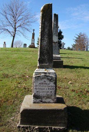 MCLAUGHLIN, MONUMENT OF - Jackson County, Iowa | MONUMENT OF MCLAUGHLIN