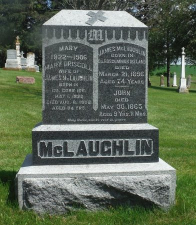 MCLAUGHLIN, JOHN - Jackson County, Iowa | JOHN MCLAUGHLIN