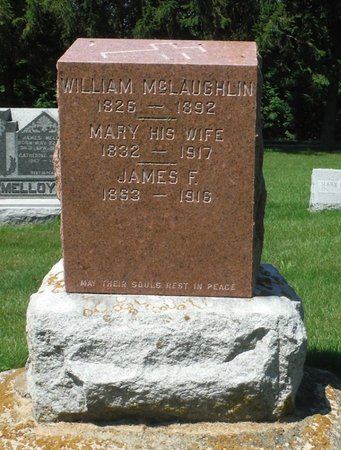 MCLAUGHLIN, MARY - Jackson County, Iowa | MARY MCLAUGHLIN