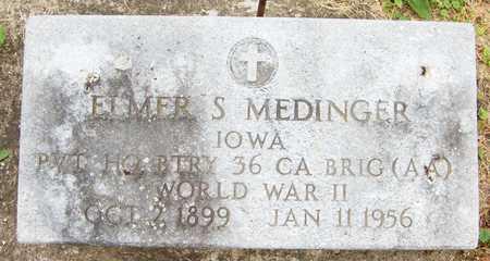 MEDINGER, ELMER S. - Jackson County, Iowa | ELMER S. MEDINGER