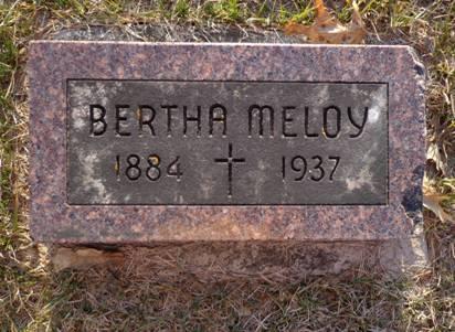 MELOY, BERTHA - Jackson County, Iowa | BERTHA MELOY
