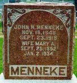 MENNEKE, MARY ANN - Jackson County, Iowa | MARY ANN MENNEKE