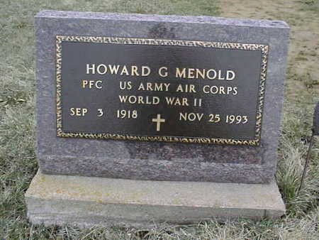 MENOLD, HOWARD C. - Jackson County, Iowa | HOWARD C. MENOLD
