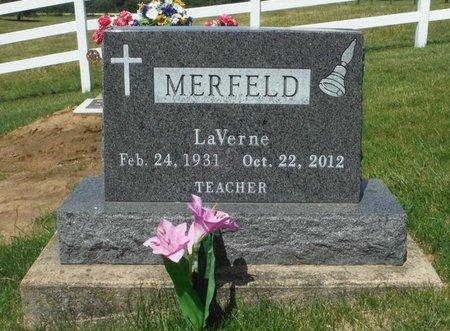 MERFELD, LAVERNE - Jackson County, Iowa   LAVERNE MERFELD