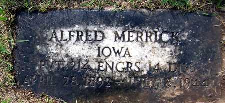 MERRICK, ALFRED - Jackson County, Iowa | ALFRED MERRICK
