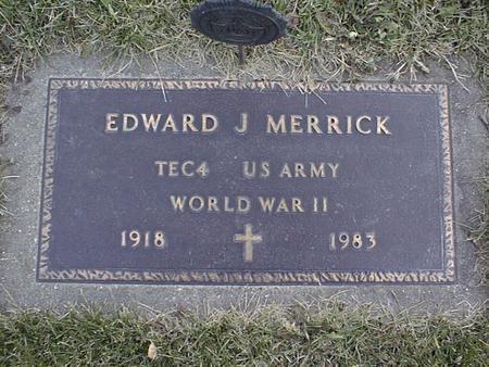 MERRICK, EDWARD J. - Jackson County, Iowa | EDWARD J. MERRICK