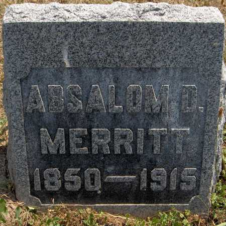 MERRITT, ABSALOM D. - Jackson County, Iowa | ABSALOM D. MERRITT