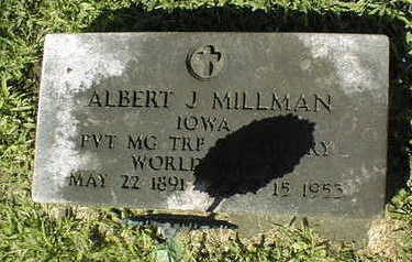 MILLMAN, ALBERT J. - Jackson County, Iowa | ALBERT J. MILLMAN