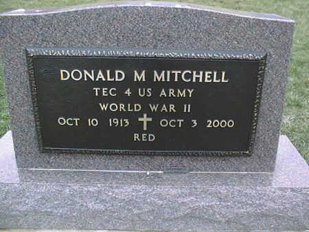 MITCHELL, DONALD M. - Jackson County, Iowa | DONALD M. MITCHELL