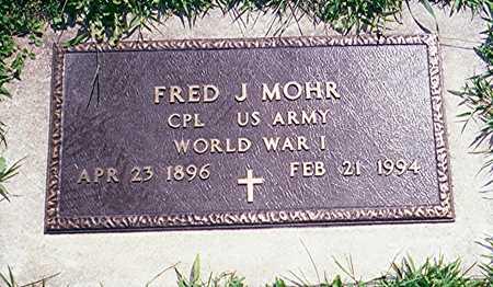 MOHR, CPL FRED J. - Jackson County, Iowa | CPL FRED J. MOHR