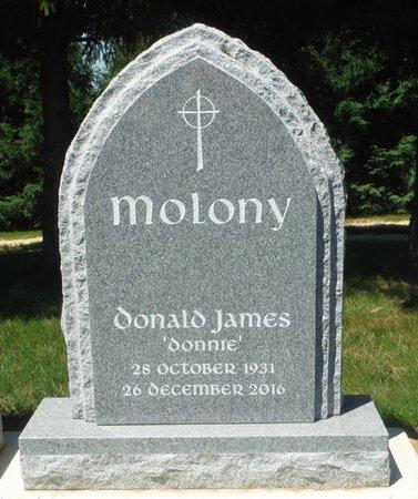 MOLONY, DONALD JAMES - Jackson County, Iowa | DONALD JAMES MOLONY