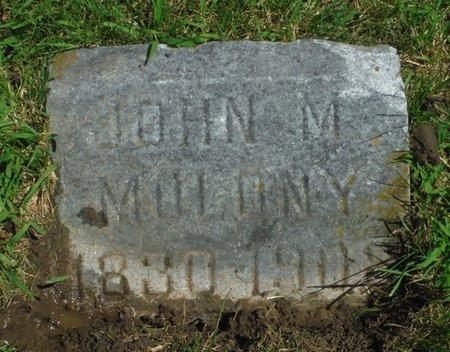 MOLONY, JOHN M. - Jackson County, Iowa | JOHN M. MOLONY