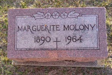 MOLONY, MARGUERITE - Jackson County, Iowa   MARGUERITE MOLONY