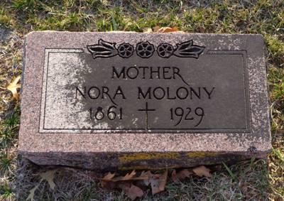 MOLONY, NORA - Jackson County, Iowa   NORA MOLONY