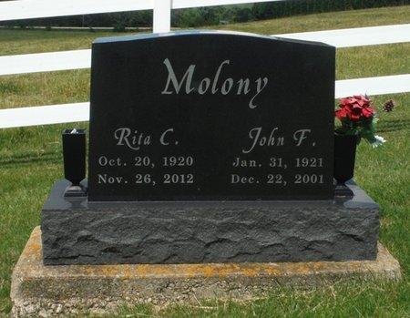 MOLONY, RITA C, - Jackson County, Iowa | RITA C, MOLONY
