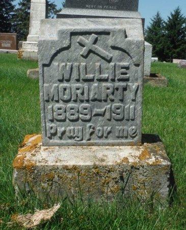 MORIARITY, WILLIE - Jackson County, Iowa   WILLIE MORIARITY