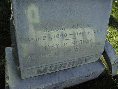 MURRAY, MARY C. - Jackson County, Iowa | MARY C. MURRAY