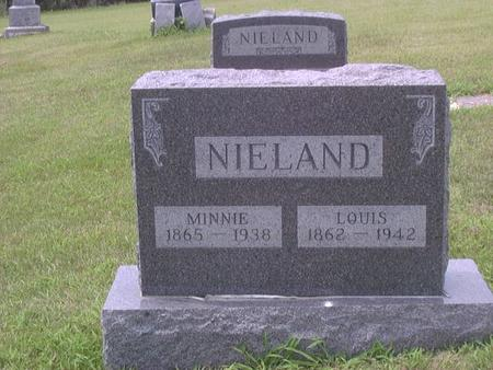 NIELAND, MINNIE - Jackson County, Iowa | MINNIE NIELAND