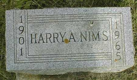 NIMS, HARRY A. - Jackson County, Iowa | HARRY A. NIMS