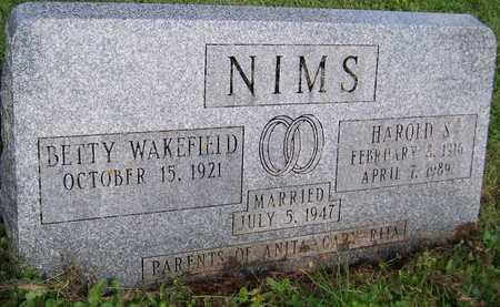 NIMS, HAROLD S. - Jackson County, Iowa | HAROLD S. NIMS