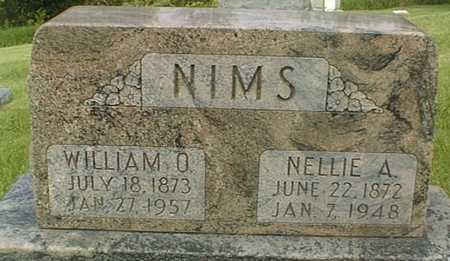NIMS, WILLIAM O. - Jackson County, Iowa | WILLIAM O. NIMS