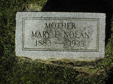 NOLAN, MARY E. - Jackson County, Iowa | MARY E. NOLAN