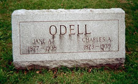 ODELL, JANE A. - Jackson County, Iowa | JANE A. ODELL