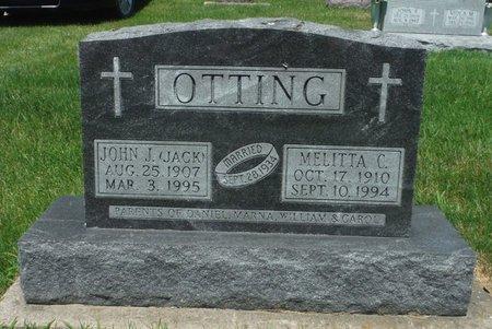 MELLOY OTTING, MELITTA C. - Jackson County, Iowa | MELITTA C. MELLOY OTTING