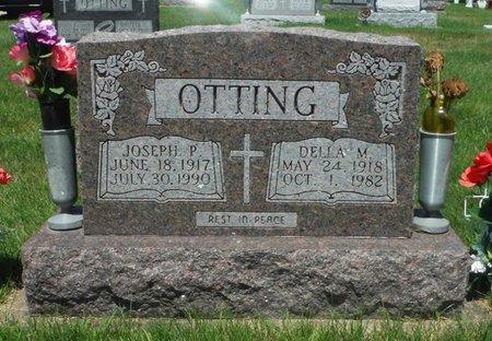 COX OTTING, DELLA M. - Jackson County, Iowa   DELLA M. COX OTTING