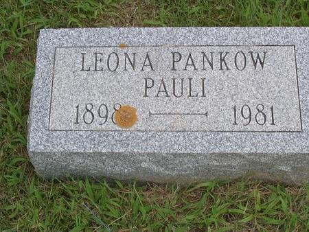 PANKOW PAULI, LEONA - Jackson County, Iowa | LEONA PANKOW PAULI