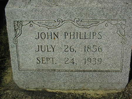 PHILLIPS, JOHN - Jackson County, Iowa | JOHN PHILLIPS