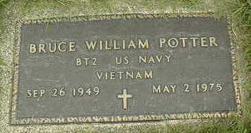 POTTER, BRUCE WILLIAM - Jackson County, Iowa | BRUCE WILLIAM POTTER