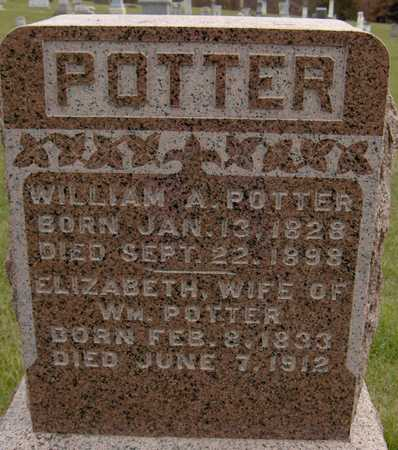 POTTER, WILLIAM A. - Jackson County, Iowa | WILLIAM A. POTTER