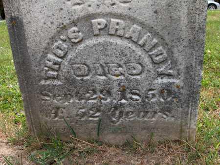PRANDY, THOMAS - Jackson County, Iowa | THOMAS PRANDY