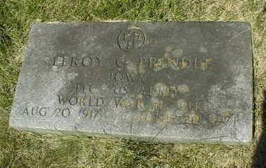 PRINDLE, LEROY G. - Jackson County, Iowa | LEROY G. PRINDLE