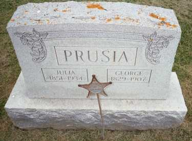 PRUSIA, GEORGE - Jackson County, Iowa | GEORGE PRUSIA