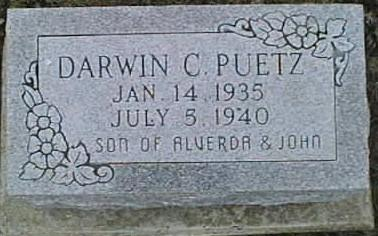 PUETZ, DARWIN C. - Jackson County, Iowa | DARWIN C. PUETZ