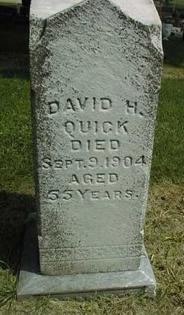 QUICK, DAVID H. - Jackson County, Iowa | DAVID H. QUICK