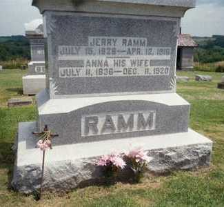 RAMM, JERRY - Jackson County, Iowa | JERRY RAMM