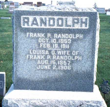 RANDOLPH, FRANKLIN PIERCE - Jackson County, Iowa | FRANKLIN PIERCE RANDOLPH