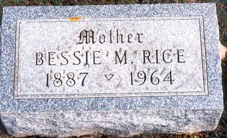 MENNEKE RICE, BESSIE MAY - Jackson County, Iowa | BESSIE MAY MENNEKE RICE