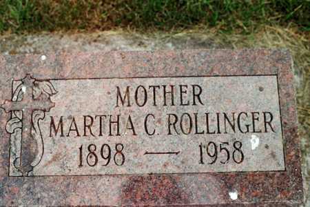 ROLLINGER, MARTHA C. - Jackson County, Iowa | MARTHA C. ROLLINGER