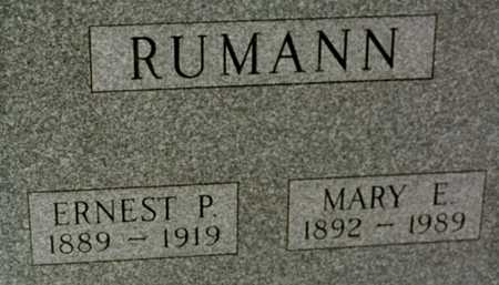 RUMANN, MARY E. - Jackson County, Iowa | MARY E. RUMANN
