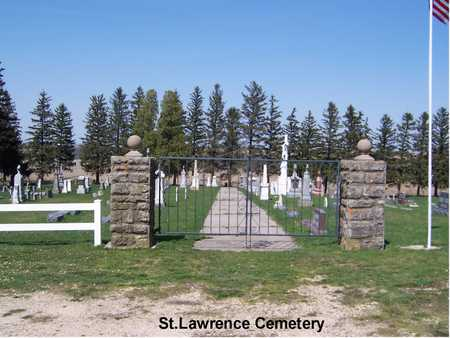 SAINT LAWRENCE, CEMETERY - Jackson County, Iowa | CEMETERY SAINT LAWRENCE