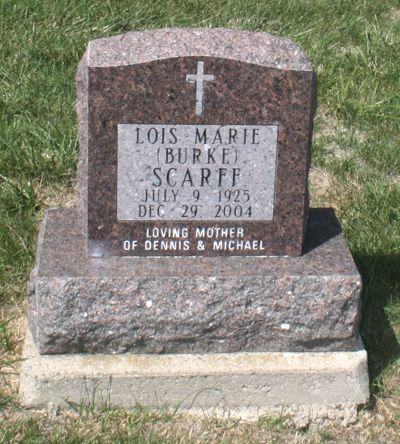 BURKE SCARFF, LOIS M. - Jackson County, Iowa | LOIS M. BURKE SCARFF